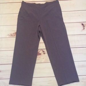 New Alfred Dunner Pants Size 20 Purple Pants